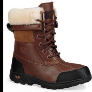 UGG Adirondack Brown Boots Size 3